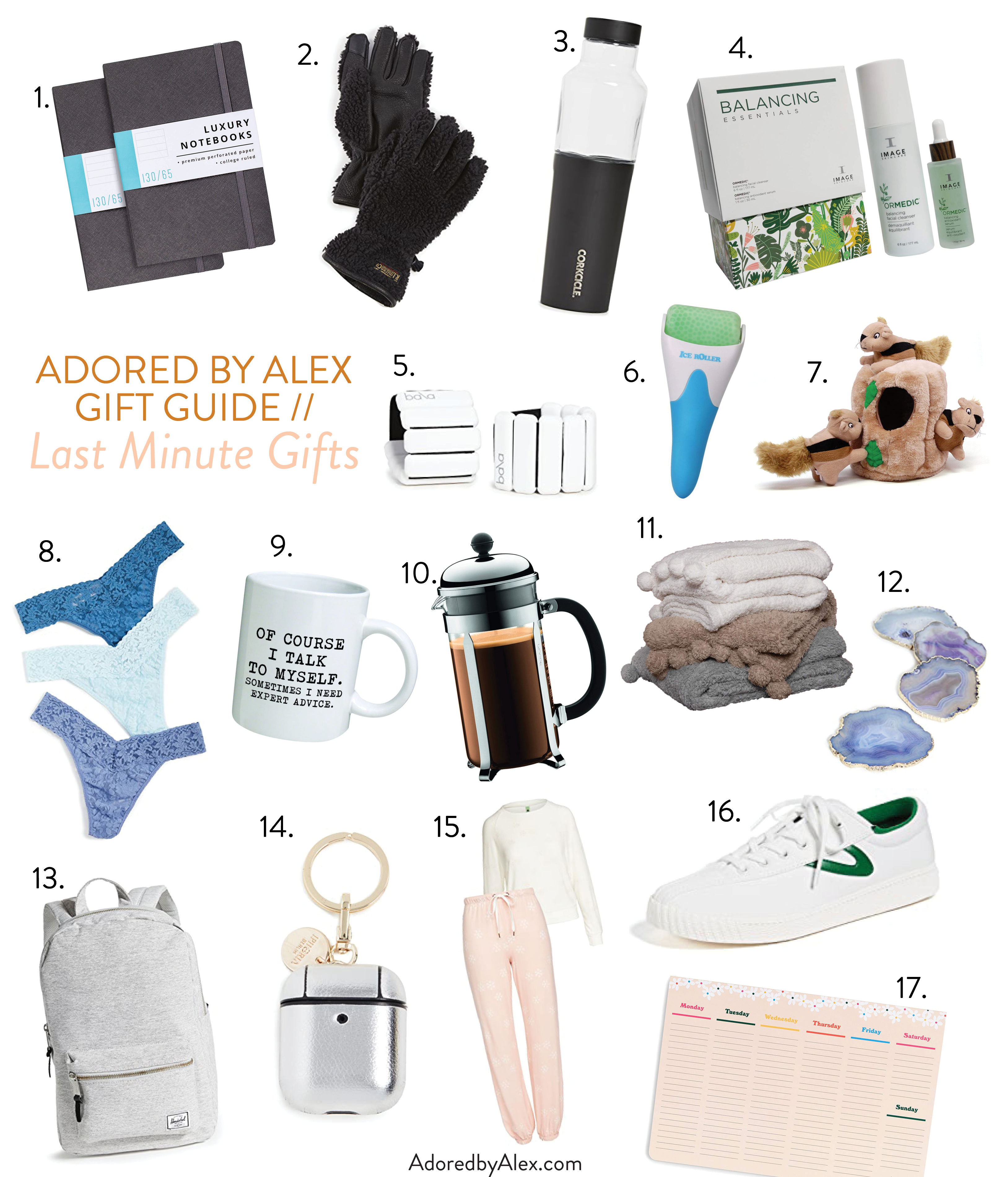 Last Minute Gifts for Christmas - Adored by Alex