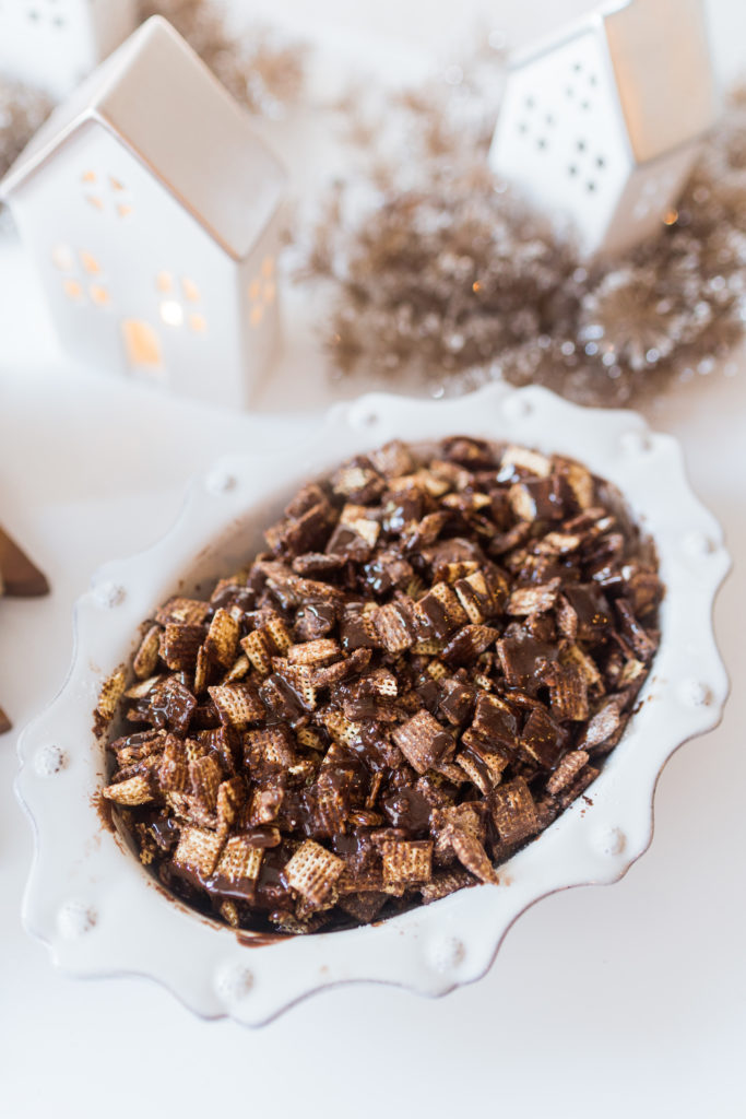 Puppy chow recipe for the holidays