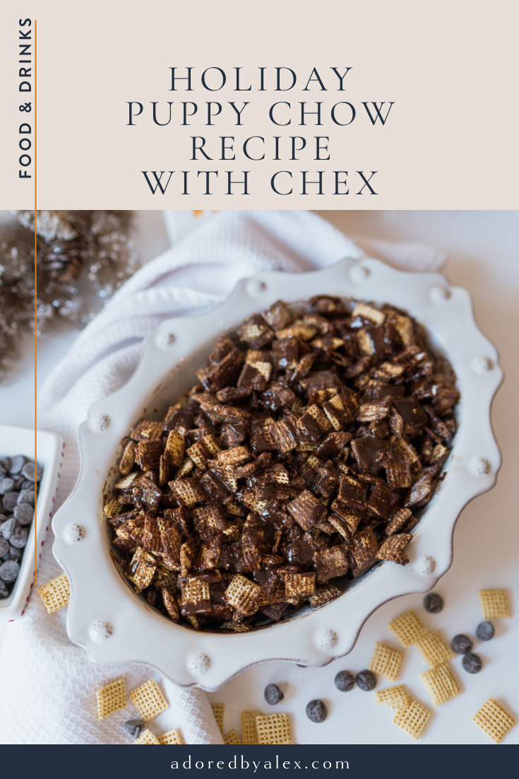 puppy chow recipe with chex