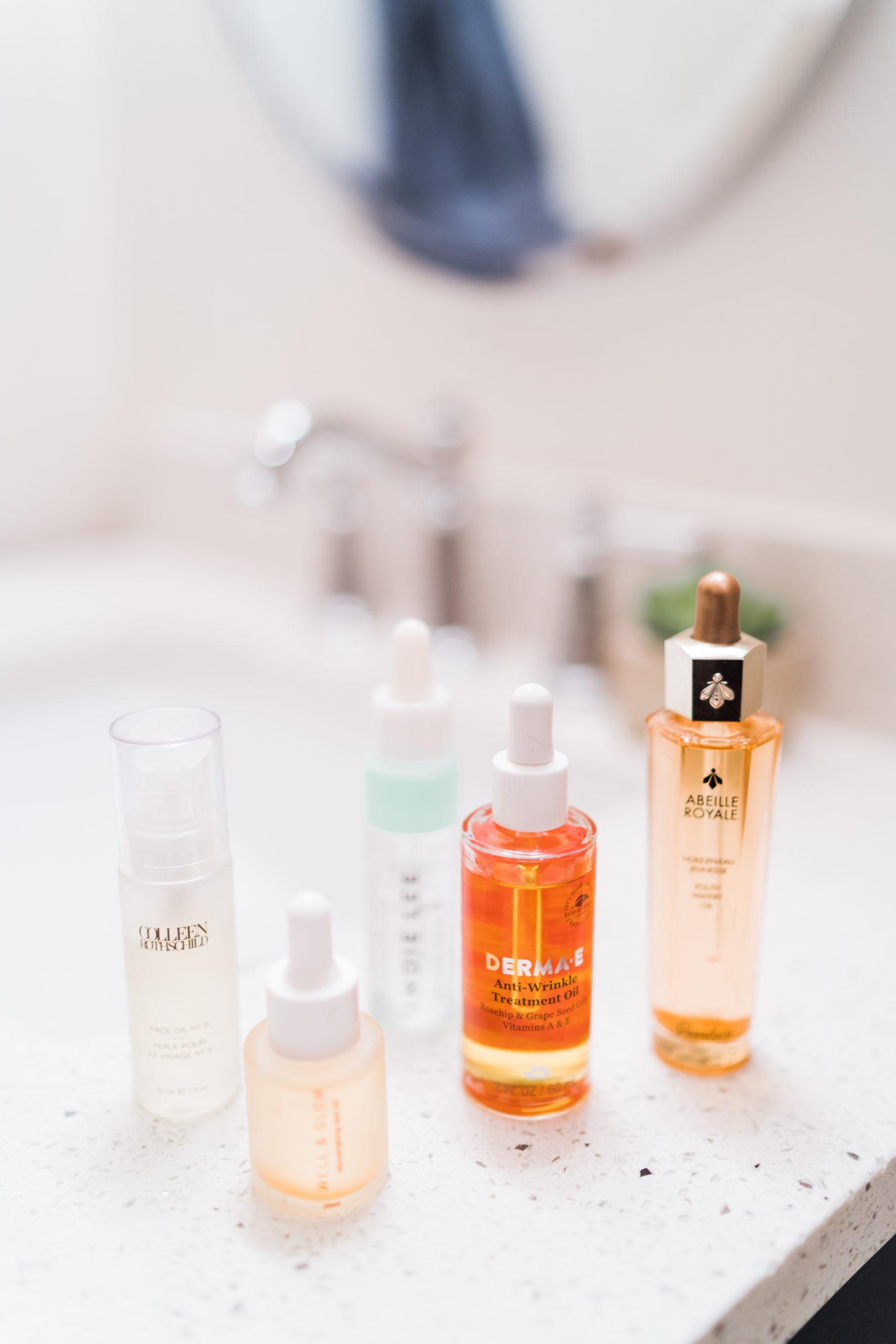 favorite anti-aging facial oils