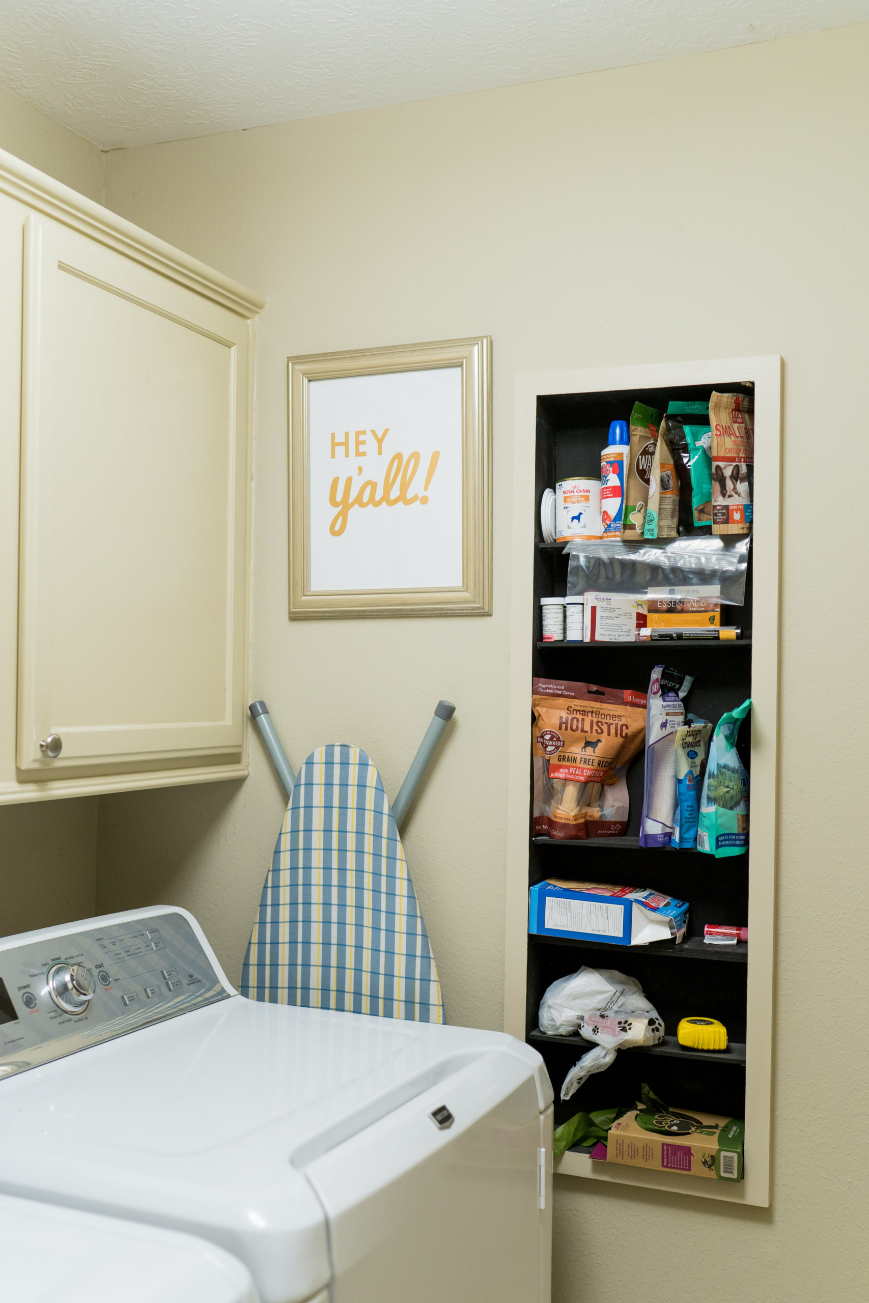 small laundry room makeover before and after