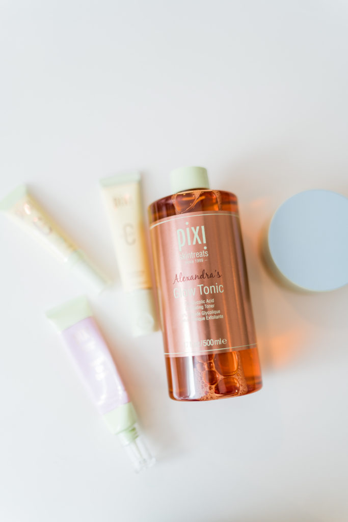 Favorite Pixi Beauty skincare products