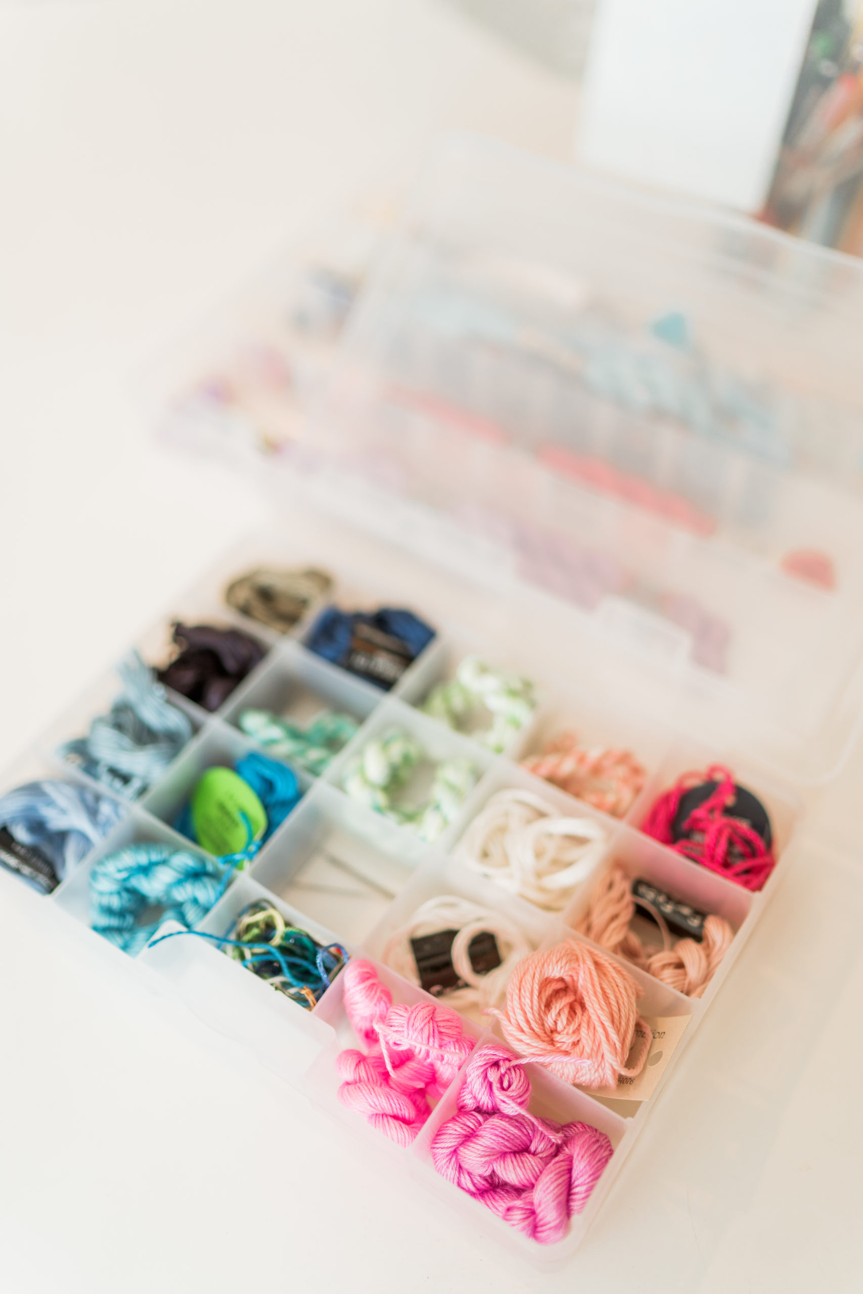 tips for organizing your needlepoint thread stash