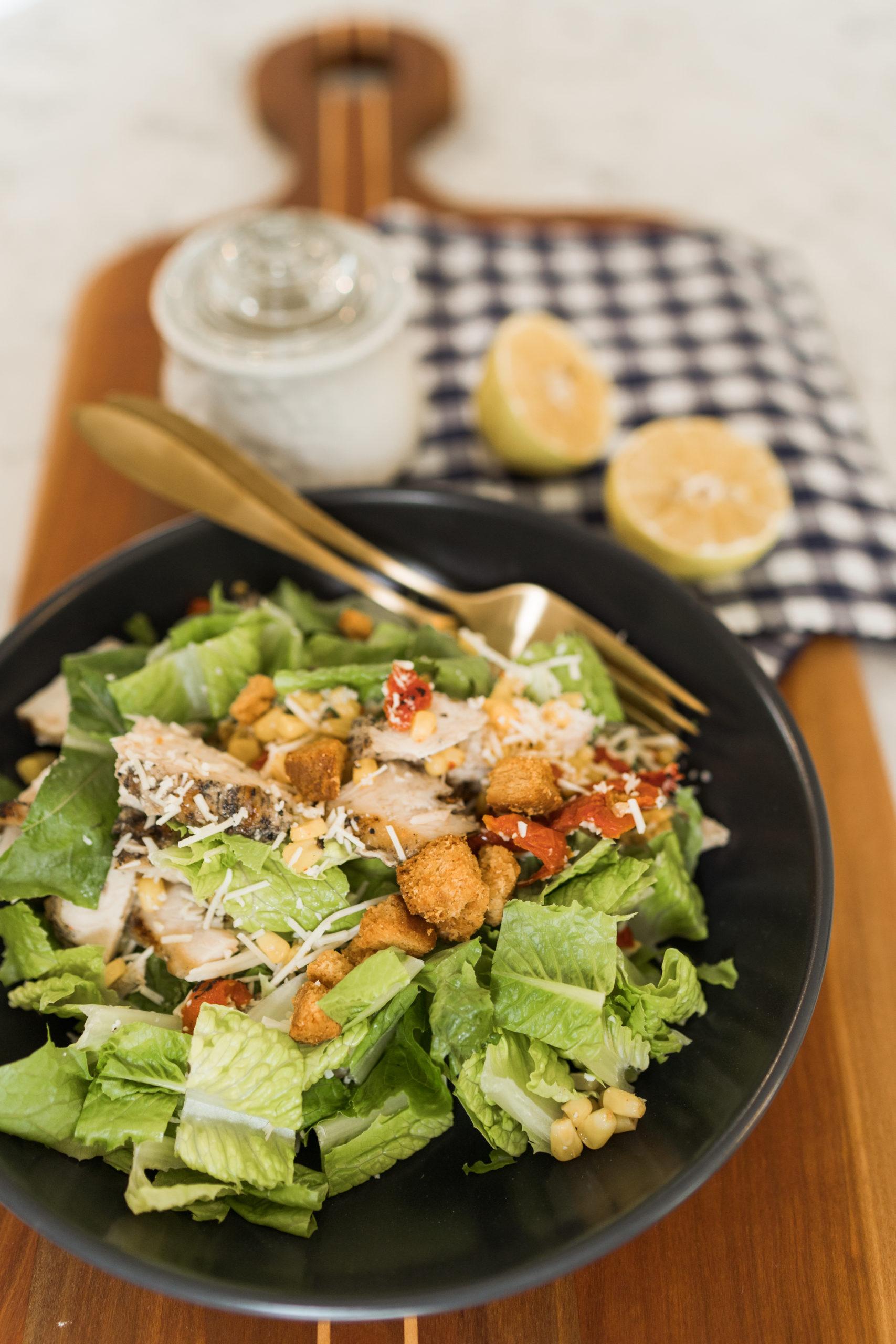homemade simple caesar salad recipe