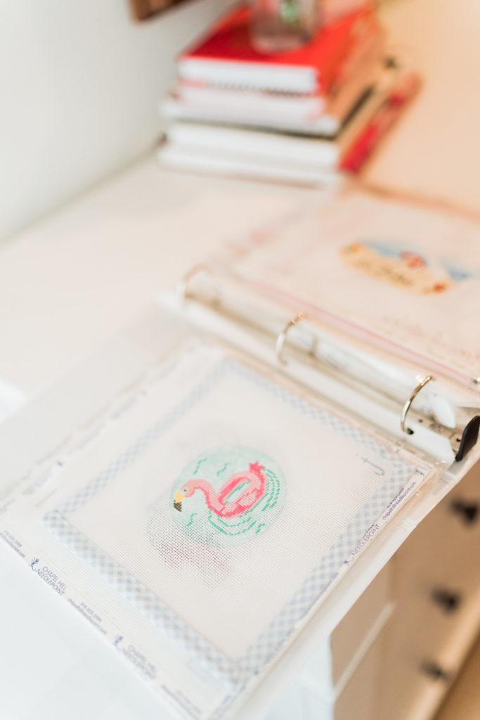 organizing your needlepoint canvas stash