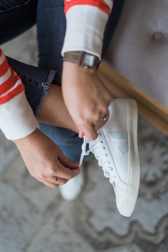 Veja leather sneakers