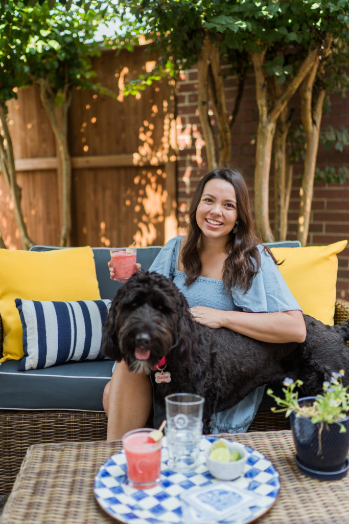 one year with Sadie our Goldendoodle | Adored by Alex
