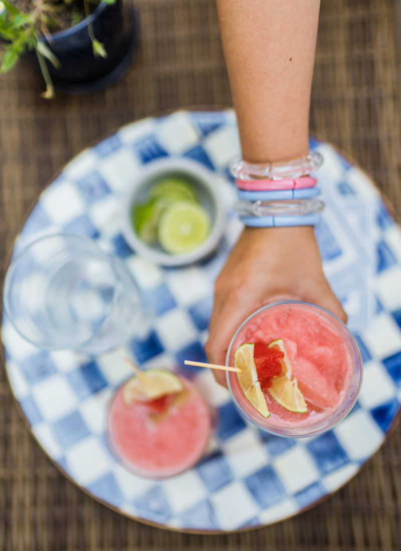 Refreshing Watermelon Lime & Rum Slush