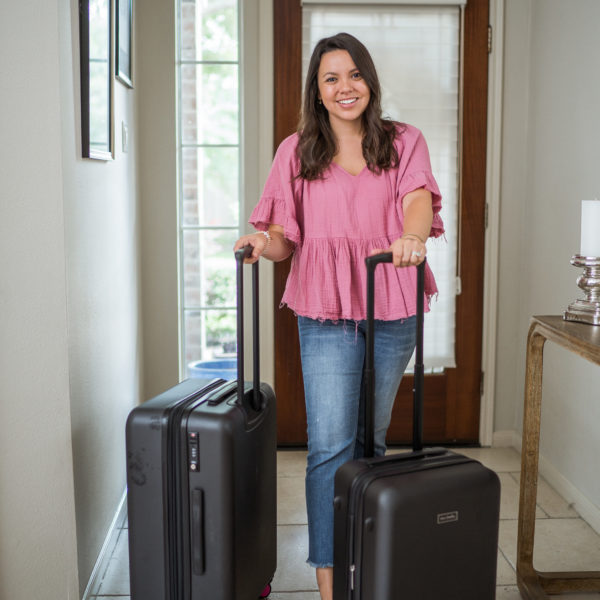 Vera Bradley hardside spinner luggage review   Adored by Alex
