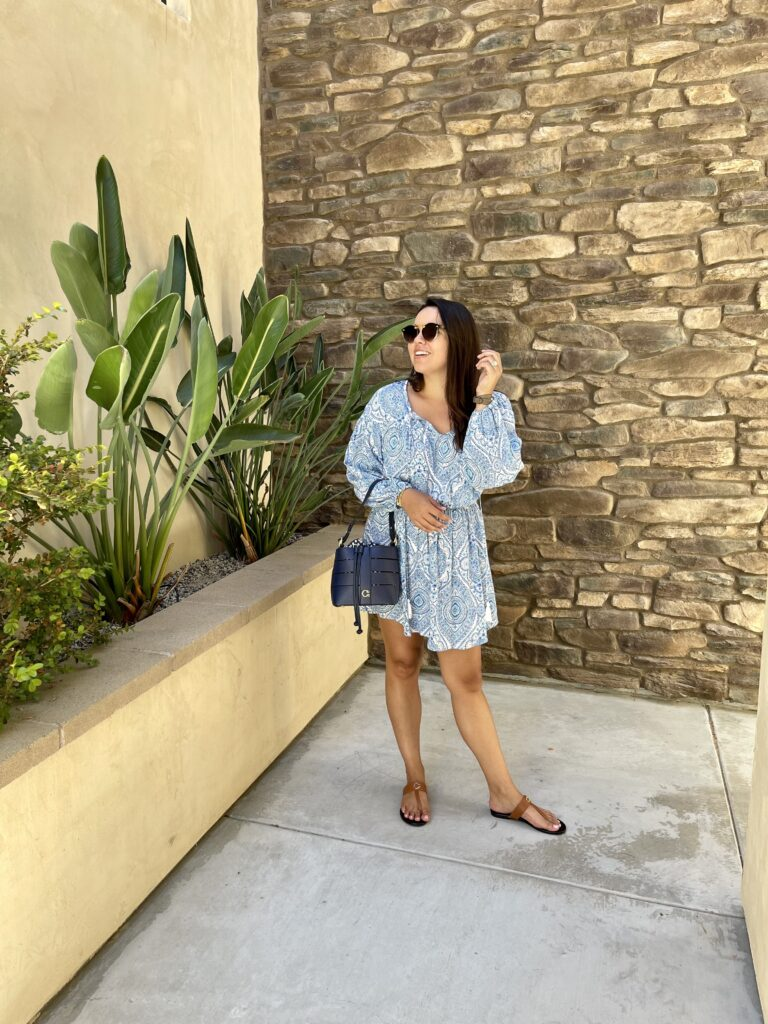 budget-friendly mini dress and classic accessories perfect for summer | Adored by Alex