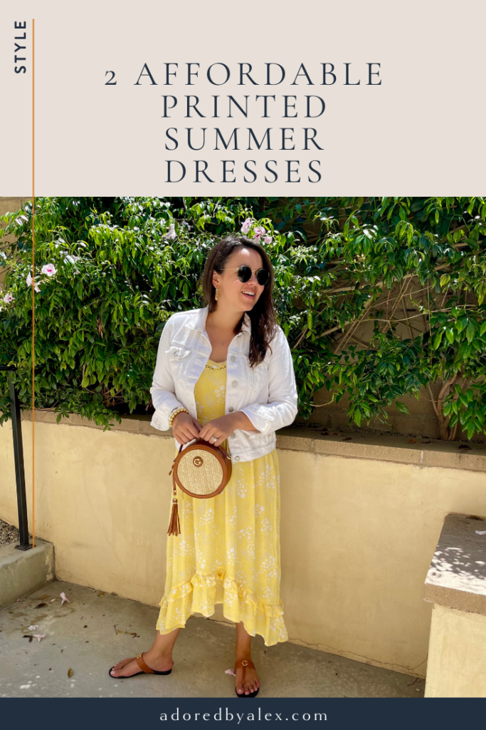 Affordable summer dresses and accessories | Adored by Alex